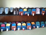 Back Packs with School Supplies